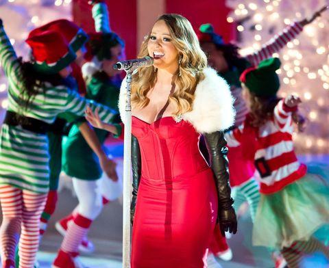 Mariah Carey performs in 2013