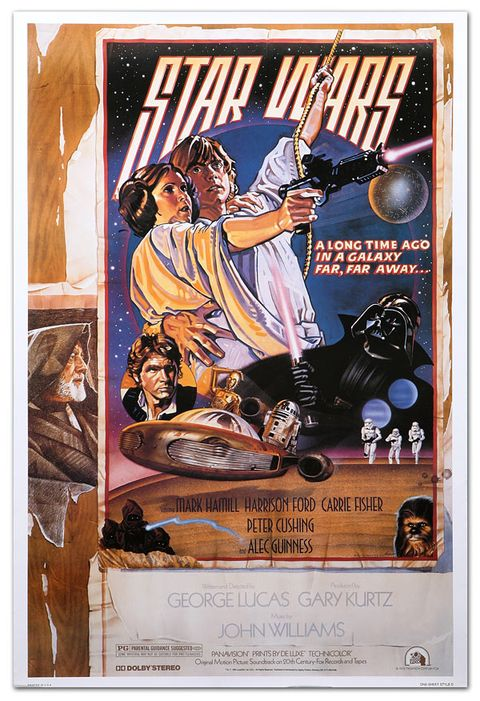 Star Wars poster A New Hope Style D – Charlie White III and Drew Struzan