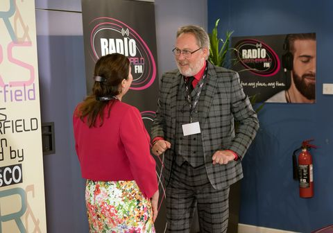 Norris and Mary Cole meet Colin in Coronation Street