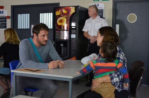 Stacey Fowler visits Martin in prison in EastEnders