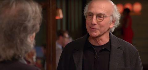 Larry David in Curb Your Enthusiasm season nine