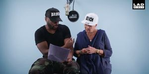 Lethal Bizzle and Dame Judi Dench
