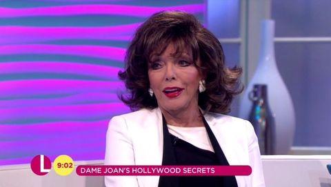 Joan Collins Lorraine
