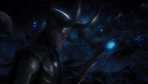 Tom Hiddleston Loki Avengers sceptre