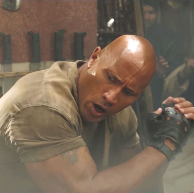 Dwayne Johnson reveals first look at Jumanji: Welcome to the Jungle sequel