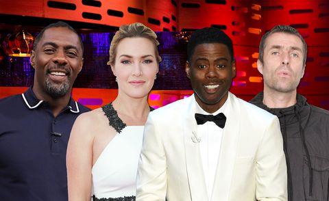 Kate Winslet, Idris Elba, Liam Gallagher, Chris Rock, The Graham Norton Show