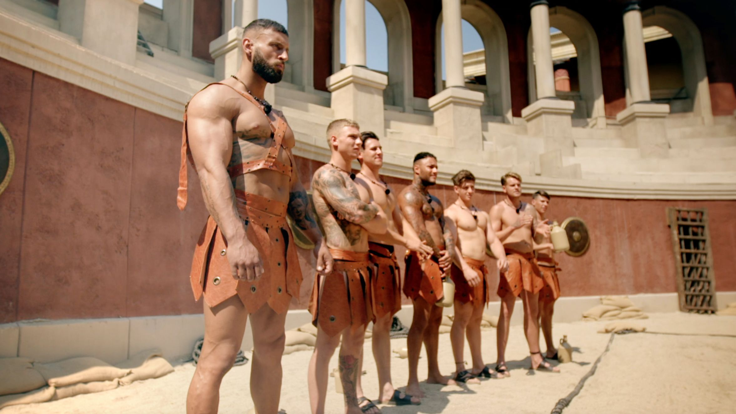 Gladiator man naked