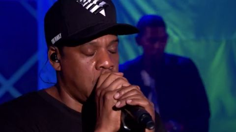 JAY-Z performs Linkin Park collaboration 'Numb/Encore' in