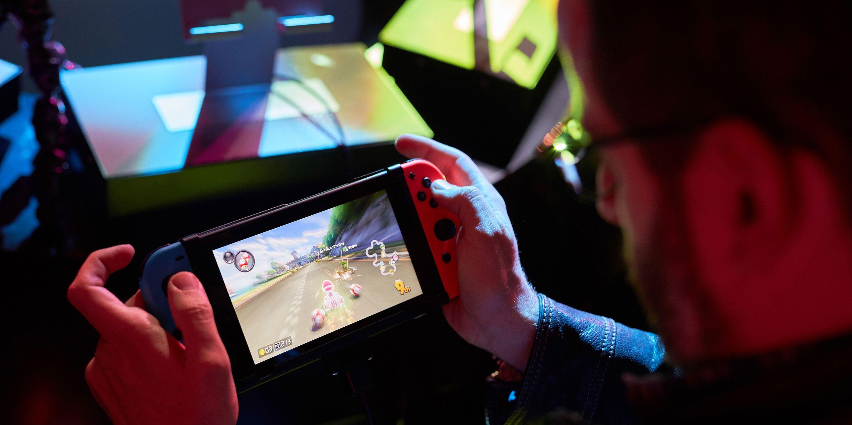 Nintendo Switch, gamer, gameplay