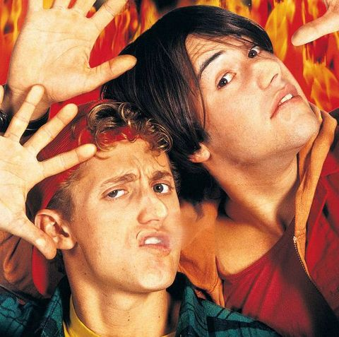 Bill & Ted 3 new look sees Keanu Reeves and Alex Winter return to iconic location