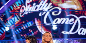 Claudia Winkleman, Tess Daly on Strictly Come Dancing 2017 week one