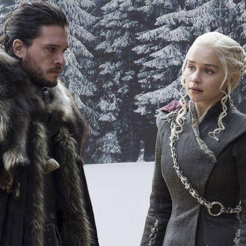 PHOTOSHOP, Jon Snow, Daenerys, Game of Thrones