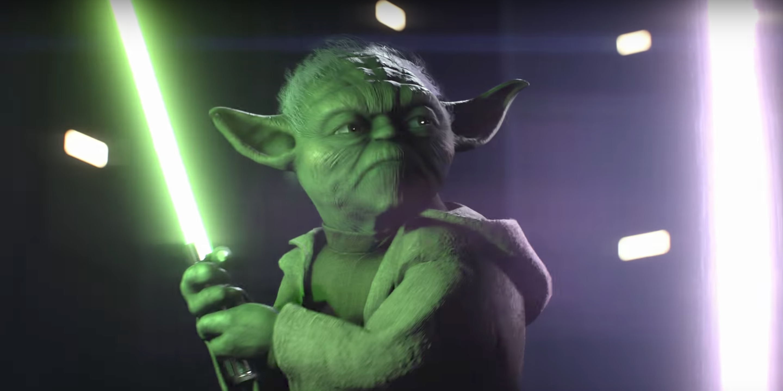 Yoda in Star Wars Battlefront II