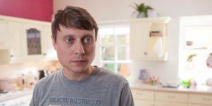 Milo Entwistle in Hollyoaks