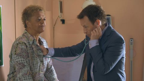 Joyce Mayweather and Jimmi Clay in Doctors