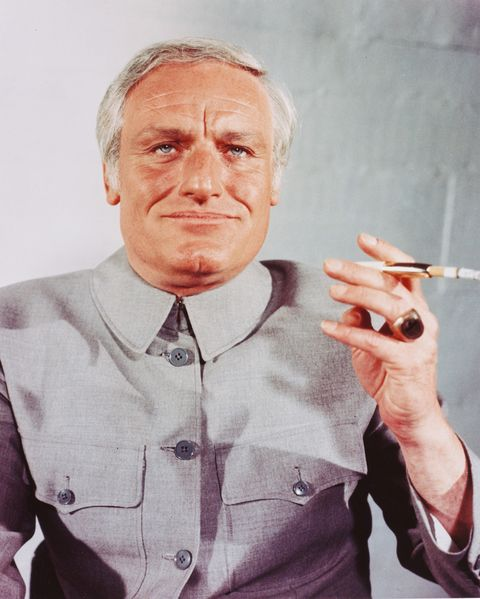 "<p>Charles Gray was perfectly cast as James Bond's rakish ally Henderson in <em data-redactor-tag=""em"" data-verified=""redactor"">You Only Live Twice</em>, and totally miscast 4 years later as the new Blofeld in <em data-redactor-tag=""em"" data-verified=""redactor"">Diamonds Are Forever</em>. Swapping menace for camp, he's a dud of a villain in a mostly charmless movie.<br></p>"