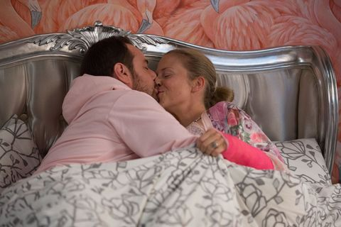 Mick and Linda Carter seem happier than ever in EastEnders