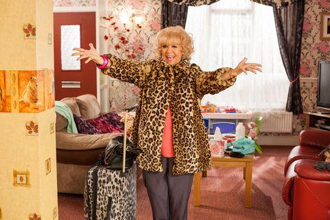 Nana McQueen returns in Hollyoaks