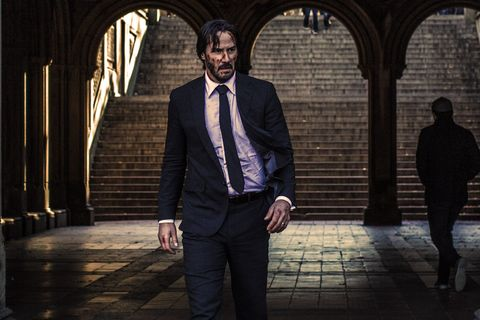Get your best wedding suit out of the closet, smear some ketchup on your face, grab a couple of water pistols and bingo, you're John Wick. Extra points for bringing your dog to the Halloween party.