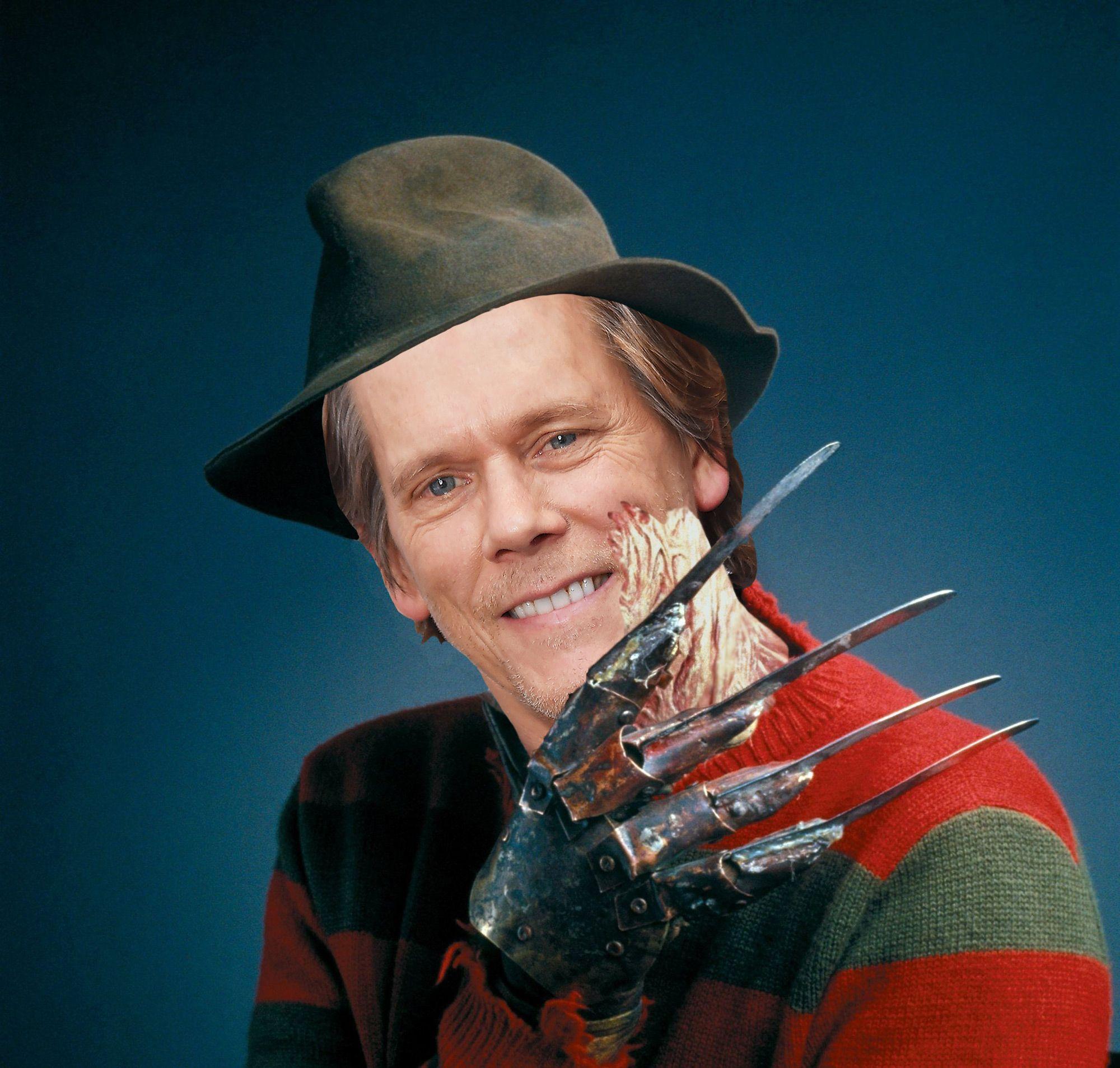 Kevin Bacon - Freddy Krueger