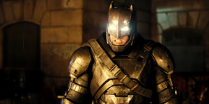 Batman armour Batman v Superman
