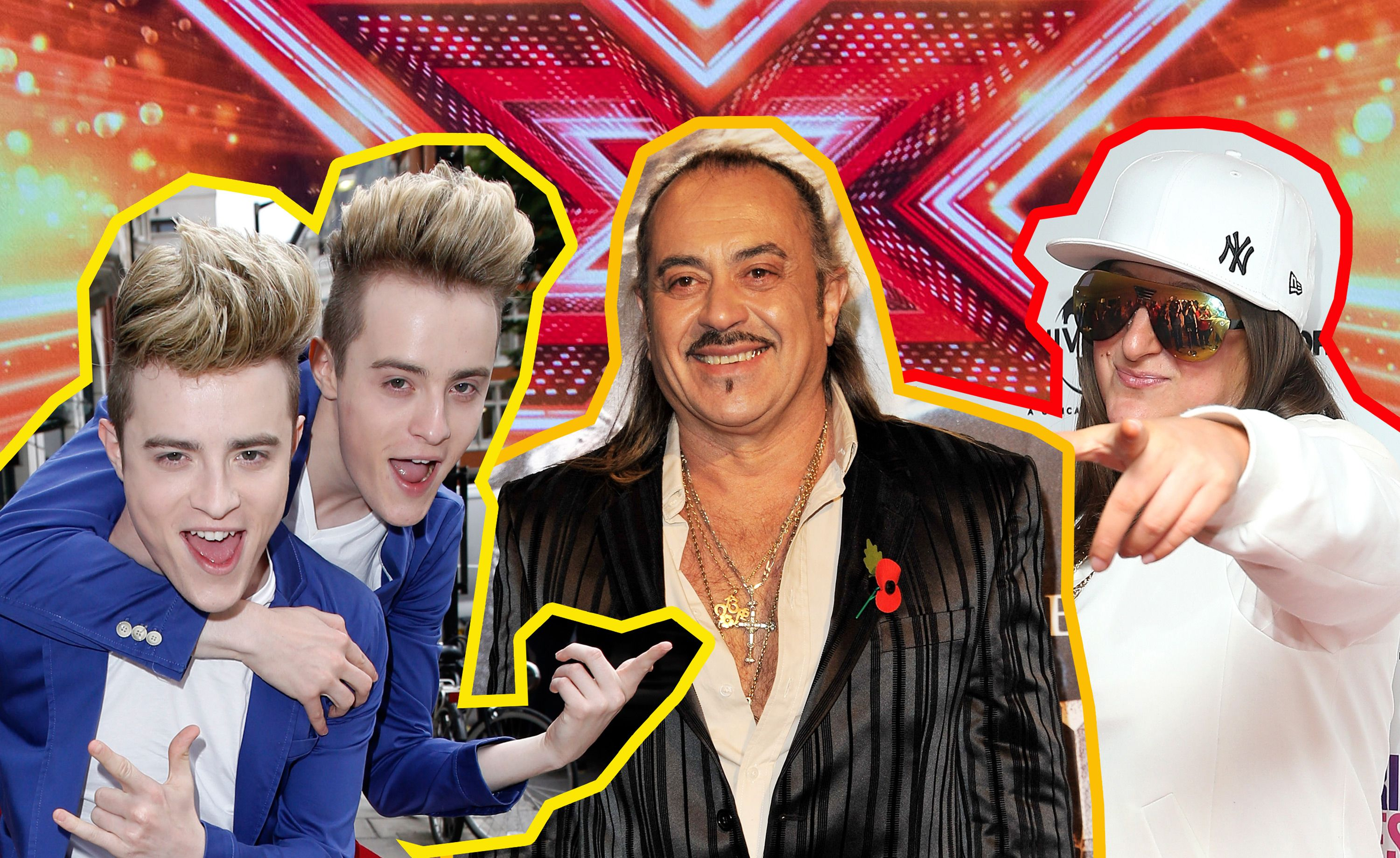 Where Are Our Favourite X Factor Joke Acts Now From Honey G To Wagner