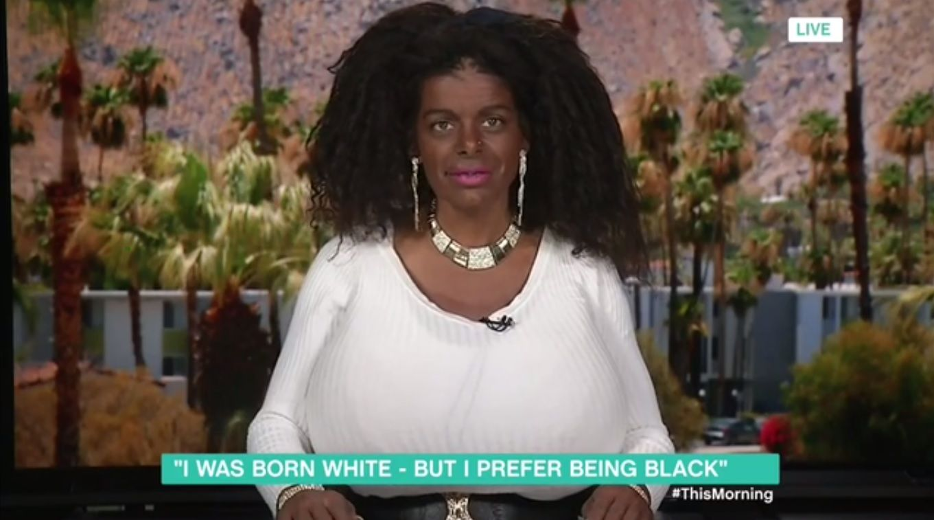 This morning meets white woman who claims shes now a black woman after tanning injections