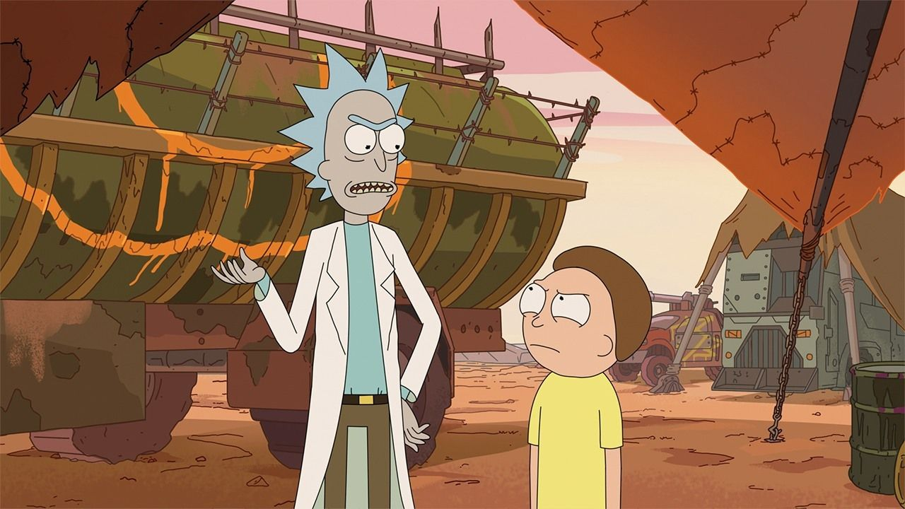 Rick And Morty Season 1 Is Back On Netflix Uk Though The Future Of