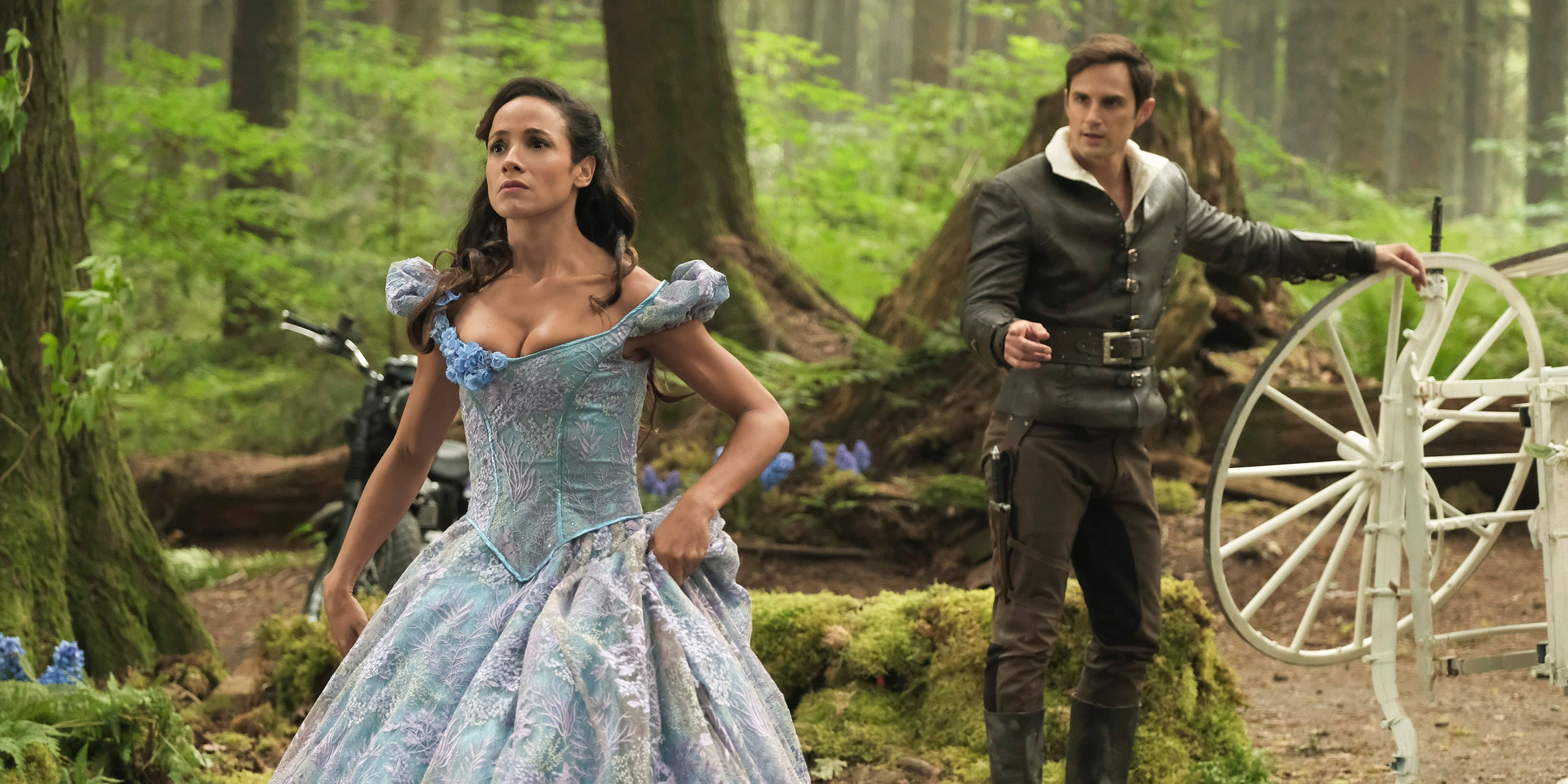 ANDREW J. WEST, DANIA RAMIREZ, Once Upon a Time, Season 7, Hyperion Heights