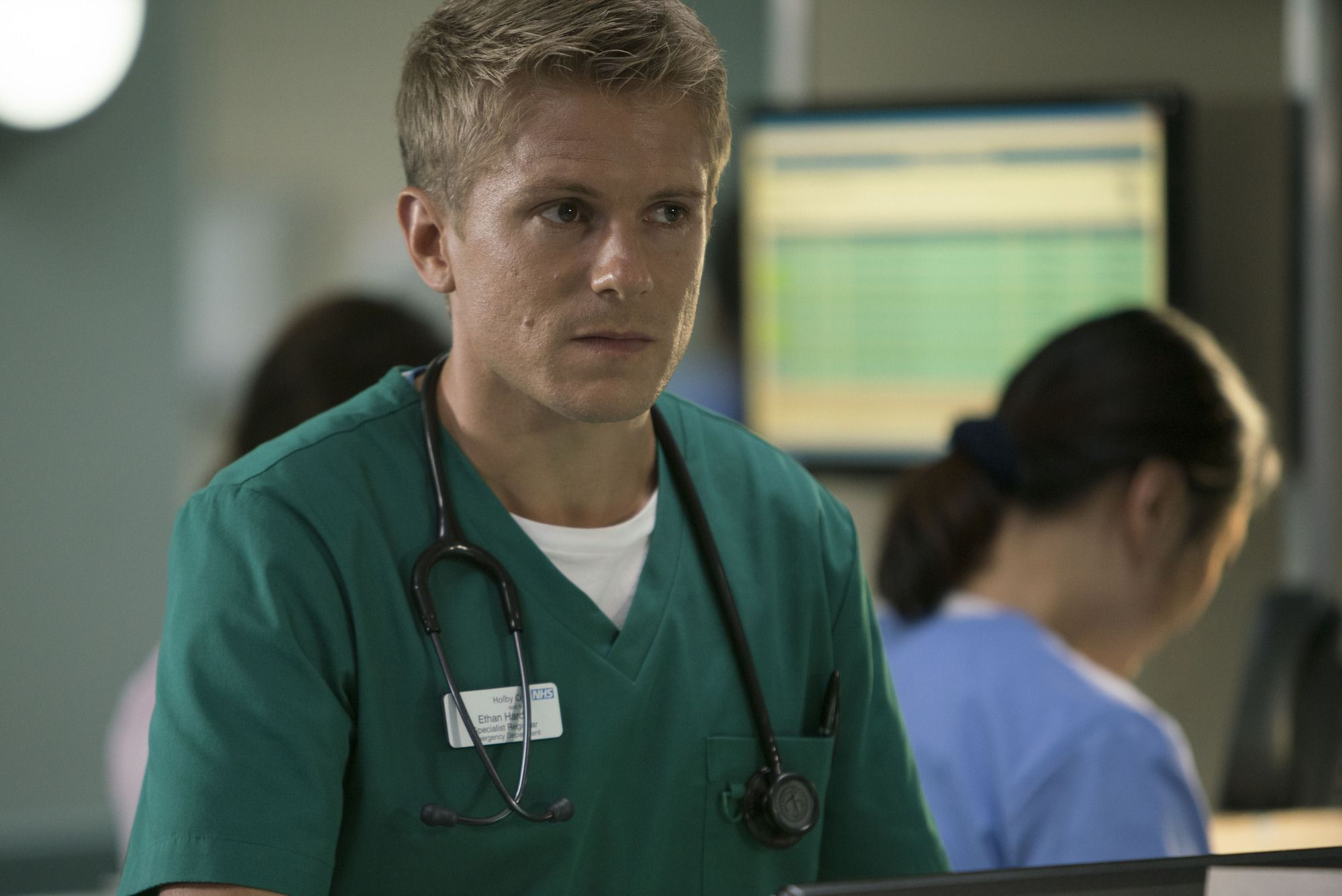 Exclusive: Casualty star George Rainsford confirms huge new story for Ethan Hardy