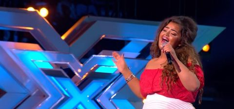 x factor contestants hook upfrom a dating relationship g revi