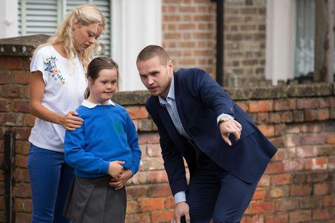 Keanu Taylor impresses Ingrid Solberg by helping Janet Mitchell in EastEnders