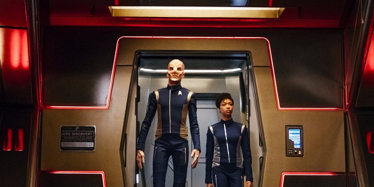 Saru and Michael in Star Trek: Discovery episode 4