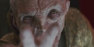 Supreme Leader Snoke in Star Wars: The Last Jedi