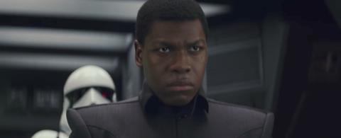 Finn in Star Wars: The Last Jedi