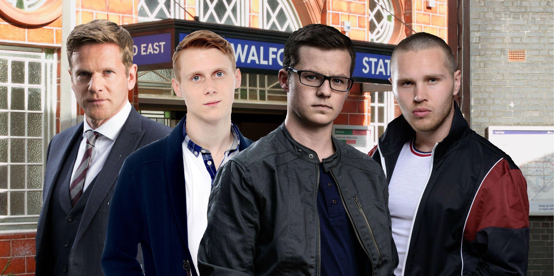 EastEnders Ben Mitchell exit theories - Luke, Jay, Ben and Keanu