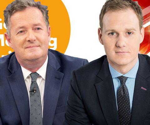 "GMB's Piers Morgan calls BBC Breakfast host Dan Walker a ""snivelling sycophant"" in furious Twitter spat"
