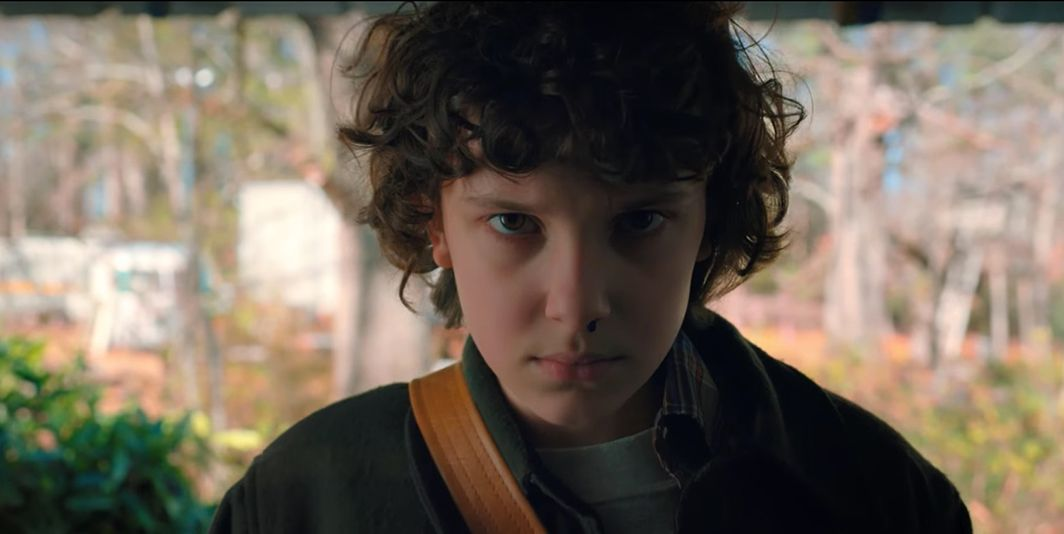 Stranger Things, Millie Bobby Brown as Eleven