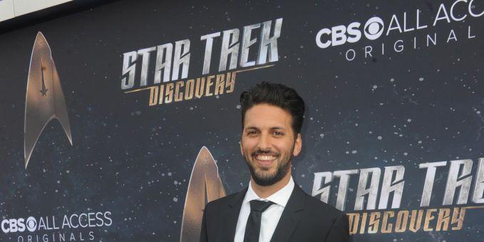 Shazad Latif at Star Trek: Discovery premiere