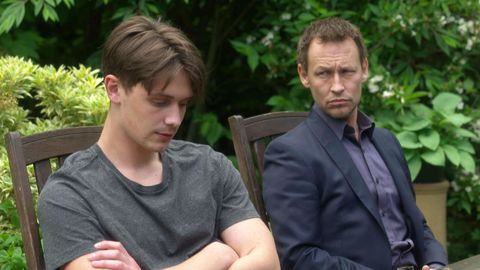 Liam Compton and Jimmi Clay in Doctors