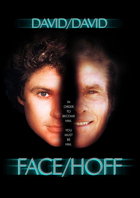 David Hasselhoff recreates classic movie posters for Killing Hasselhoff
