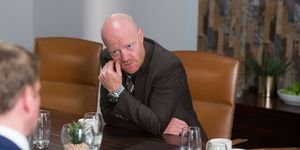 Max Browning has a tense meeting with James Willmott-Brown in EastEnders