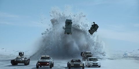 Fast and Furious 8 stunt