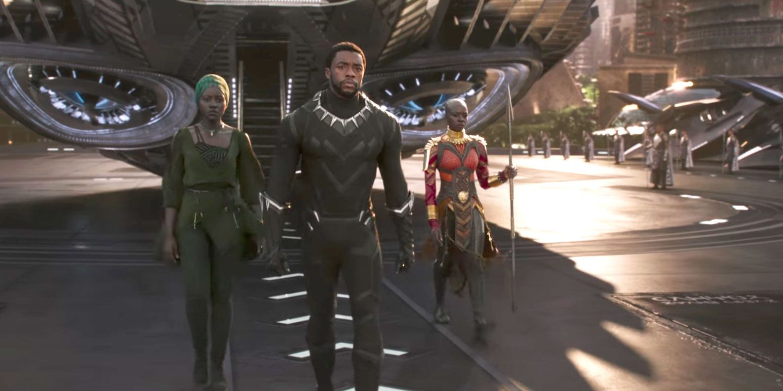 Lupita Nyong'o, Chadwick Boseman, Danai Gurira, Black Panther