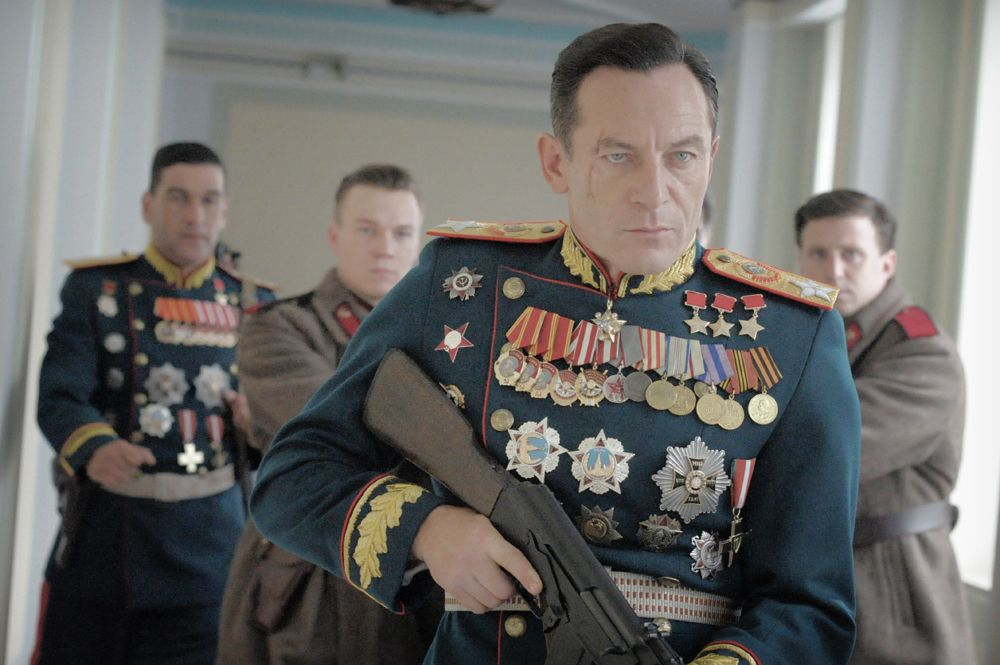 Jason Isaacs talks Death of Stalin and how Lucius Malfoy would be scared of  Donald Trump
