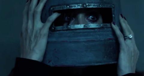Jigsaw 'Buckethead' clip: Watch it here