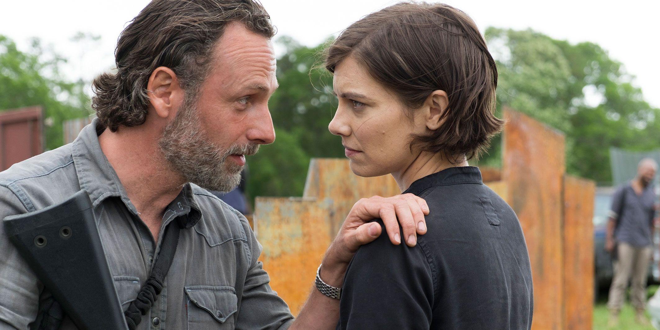 Rick Grimes, Maggie Greene, Season 8, Episode 1, The Walking Dead