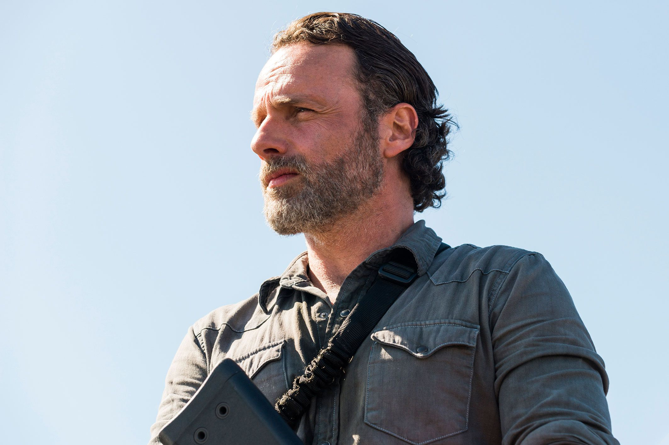 First look at The Walking Dead's Andrew Lincoln in new movie