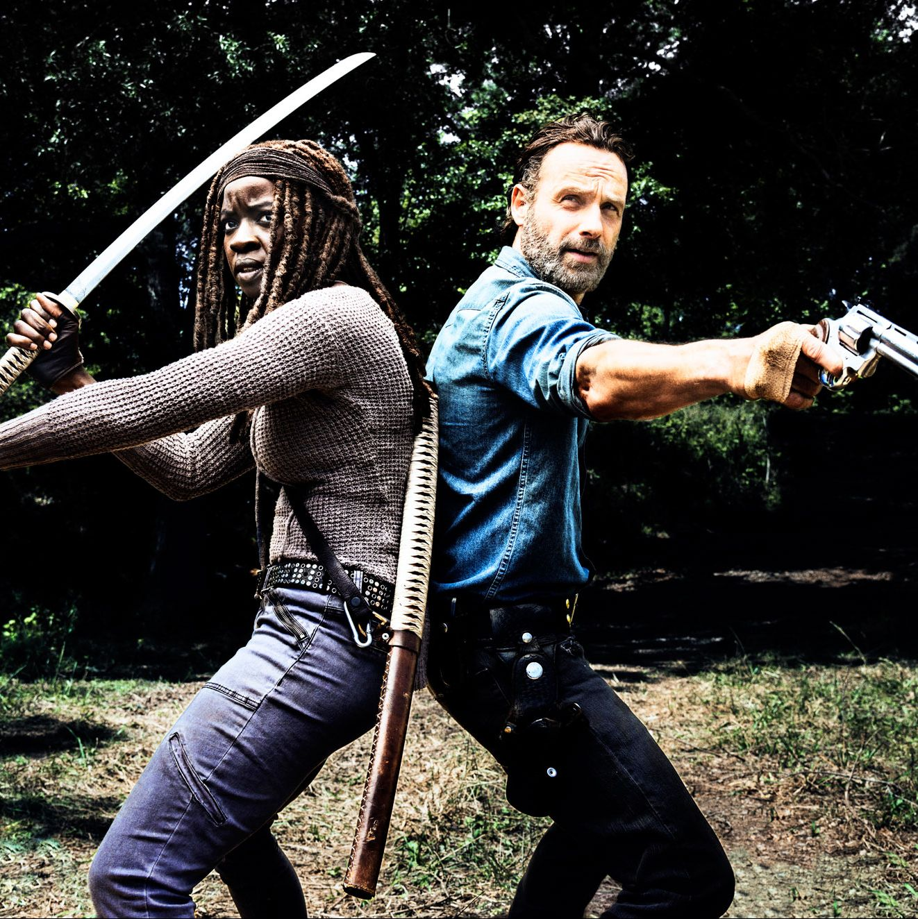 New Walking Dead game announced starring Rick Grimes and Michonne