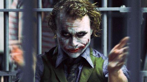 Heath Ledger as The Joker, Batman The Dark Knight,